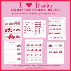 Trucks @heatherharwell for Charlie!!