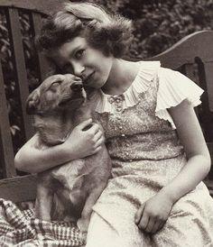 Queen Elizabeth II as young girl.