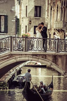 How romantic- a wedding in Venice! All the history and class that comes with the city, it deserves a special wedding outfit