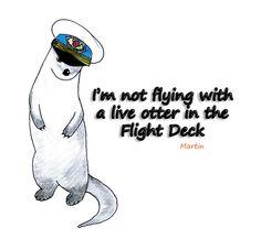 cabinlock-cabin-pressure-bbc-radio-otter-hypothetically_by_nzlioness deviantART image Cabin Pressure, Fandom Memes, Flight Deck, Bbc Radio, Johnlock, Sherlock Bbc, Otters, Make Me Smile, Life Is Good