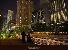 Magnolia Hotel & The Grove Houston Wedding Photography – Kelda + Hilton Rooftop Wedding, Chapel Wedding, Wedding Ceremony, Beautiful Wedding Venues, Dream Wedding, Discovery Green, Let's Get Married, Outdoor Ceremony, Wedding Inspiration