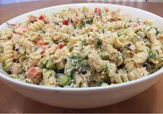 Liian hyvää: Pastasalaatti lämminsavulohesta Fusilli, Bon Appetit, Pasta Salad, Potato Salad, Macaroni And Cheese, Food And Drink, Potatoes, Cooking, Ethnic Recipes
