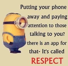 Many teens need to know when to use social media and how to be respectful when they are on it......*AJ*