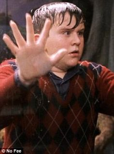 Harry Melling appeared in five of the Harry Potter films as Potter's bullying and spoiled cousin Dudley Dursley