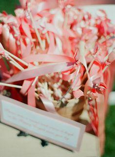Les moineaux de la mariée: DIY : Une baguette-ruban