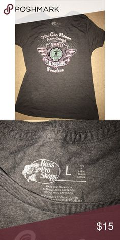Bass Pro NRA Shirt For the ladies who love a good gun 😊😉❤ Bass Pro Tops Tees - Short Sleeve