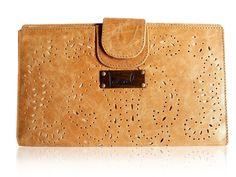 SUBLIME. Leather wallet / tan leather wallet / women's by BaliELF, $100.00