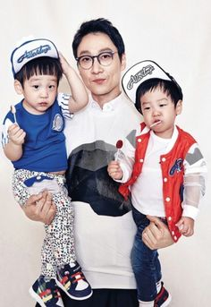 Lee Hwi Jae Appa + Lee Seo Won + Lee Seo Jun