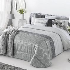 Colchas Bouti en Donurmy Comforters, Blanket, Pillows, Bed, Furniture, Alessi, Home Decor, Service, Ideas Para