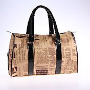 Vintage Fashion Krant Patroon schoudertas – EUR € 32.17 Cheap Handbags, Tote Handbags, Nylon Tote, Vintage Fashion, Reusable Tote Bags, Shoulder Bag, My Style, Newspaper, Casual