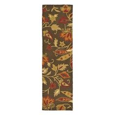 Safavieh BLM861A-211 Blossom Hand Hooked Runner, Brown