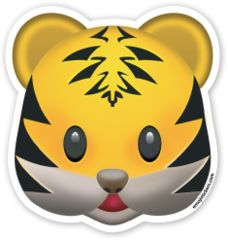 Tiger Face | Emoji Stickers