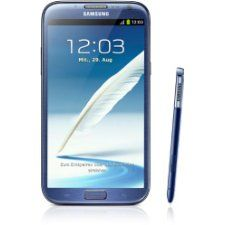 Samsung  Smartphone Galaxy Note II N7100 da 16GB, schermo touchscreen AMOLED da 14 cm (5,5), Quad-core, 1,6GHz, fotocamera da 8 Megapixel, Android 4.1, Colore: Blu