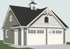 22' Wide Garage Gambrel roof plans - Google Search