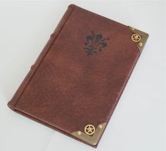 Steampunk Lederbuch Logbuch Tagebuch Notizbuch Din A6 - Zeitreise-Shop