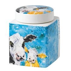 Yhe Country Kitchen Cow Canister (14 puntaa amazonissa)