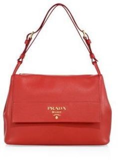 0ce3fa2b1e1b ... reduced city calfskin bicolor double zip galleria tote bag caramel  orange caramel papaya by prada at ...