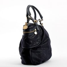 f1cb92a4e0a6 blue Plain Cloth STELLA MC CARTNEY Handbag - Vestiaire Collective Stella  Mc, Luxury Consignment,