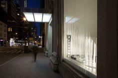 Calvin Klein unveils Holiday Windows by Snarkitecture