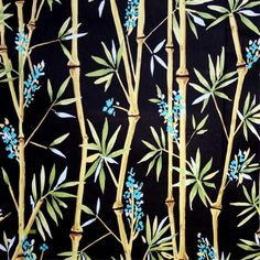 A beautiful black oriental print that would make a striking addition to your interiors. Use this bamboo design to make a beautful blind, curtains, lampshade or Oriental Print, Black Bolt, Bamboo Design, Fabrics, Beautiful, Tejidos, Cloths, Fabric, Textiles