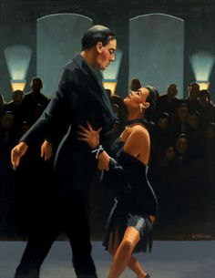 Rumba in Black  Artist: Jack Vettriano (love, love his work!!)