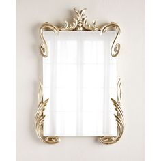 John-Richard Collection Hailey Mirror (€2.275) ❤ liked on Polyvore featuring home, home decor, mirrors, silver, rectangular mirrors, handmade home decor, silver leaf mirror, rectangular beveled mirror and john-richard