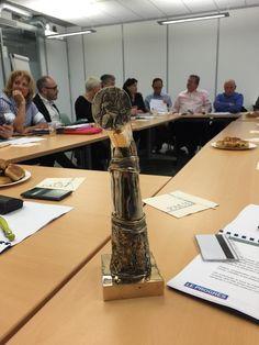 Découvrez le prototype du trophée de l'#artisanat sponsorisé par @Lafontvetement en partenariat avec @Le_Progres !