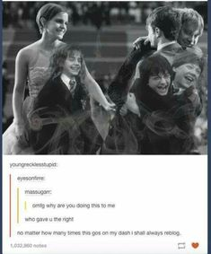 Harry, Ron, and Hermione Harry Potter Feels, Harry Potter Jokes, Harry Potter Pictures, Harry Potter Cast, Harry Potter Universal, Harry Potter Fandom, Harry Potter World, Daniel Radcliffe, Hermione