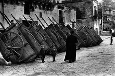 Basilicata, Italy, 1951 - by Henri Cartier-Bresson (1908 – 2004), French
