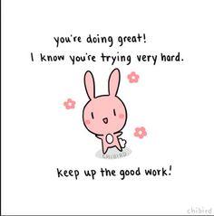 positive bunny post :-)