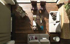 - CAJA DE LUZ - El diseño cuidadoso y una ejecución impecable dejan que la luz y pocos materiales bien escogidos definan la sobria expresión de esta casa de descanso.