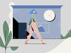 super Ideas for fashion poster illustration behance Illustration Example, Simple Illustration, Character Illustration, Graphic Design Illustration, Digital Illustration, Design Sites, Identity, Isometric Design, Instructional Design