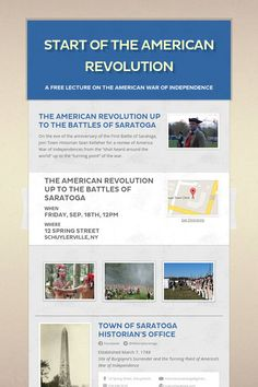 Help spread the word about Start of the American Revolution. Please share! :)