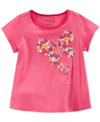 First Impressions Baby Girls' Butterly T-Shirt, Only at Macy's