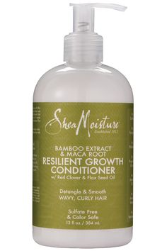 Bamboo Extract & Maca Root Resilient Growth Conditioner -