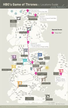 Confraria de Arton: Mapa e Infográfico para entender Game of Thrones 2