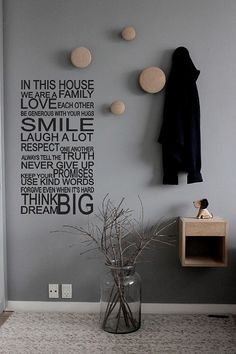Family Rules Premium Quality / House Rules / Wallsticker / Organic Vinyl / Luxury decal / Kids Children / Smile Laugh Never Give Up - 618_