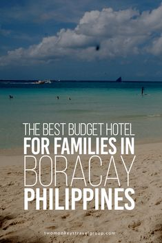 The Best Budget Hotel for Families in Boracay, Philippines It was my first time to visit Boracay and was excited to set my foot on that famous fine sand and submerge myself in crystal clear waters. It was a vacation I think I deserved. The original plan was to take my son with me but decided to check out Boracay first if it is conducive for toddlers (active toddlers, I might add). You see, I picture the place as a partying scene so I am unsure if my kids will enjoy.