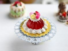 Marie Antoinette Pastry & Jelly ~ Paris Miniatures