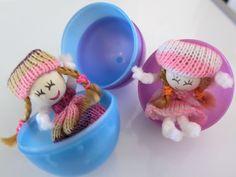 Handmade Doll Easter Egg Fillers #Easter #EasterEgg #EasterEggFillers #CuteGifts