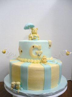 Classic Winnie The Pooh Cake. Baby CakesBaby Shower ...