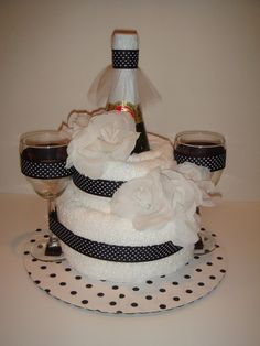 Pokadot Towel Cake