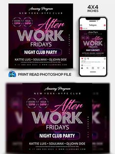 Club Flyers, Club Parties, Party Flyer, Premium Wordpress Themes, Flyer Template, Night Club, 4x4, Photoshop, Templates