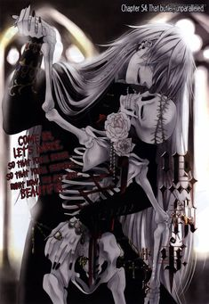 Come on, let's dance! The Undertaker from Black Butler!