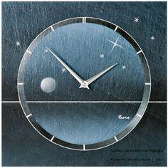 Vaerst 2712 Quarz-Wanduhr aus Naturschiefer, Swarovski Elements, Motiv Sternenhimmel, Airbrush Design silber/blau Vaerst http://www.amazon.de/dp/B005CZON7Y/ref=cm_sw_r_pi_dp_r4Rfub06SG6BR