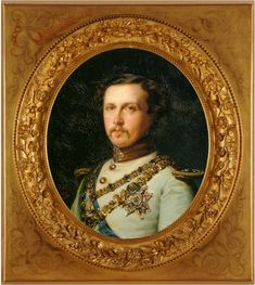 King Consort Francisco of Asís painted by Federico Madrazo