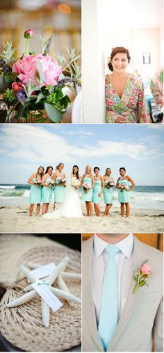 nautical, beach, coastal, and lilly inspired wedding ideas #LillyPulitzer #SouthernWeddings