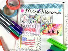 Memories Page in Bullet Journal