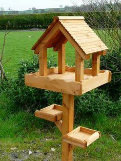 Bird House Kits Make Great Bird Houses Large Bird Feeders, Bird Feeders For Kids To Make, Wood Bird Feeder, Bird Feeder Plans, Bird House Feeder, Wooden Bird Houses, Bird Houses Diy, Bird House Plans, Bird House Kits