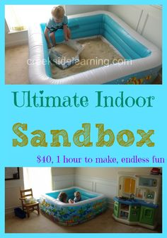Ultimate Indoor Sandbox